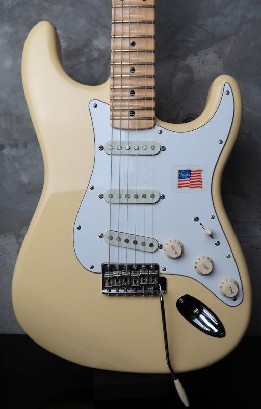 画像1: Fender USA Yngwie Malmsteen Stratocaster Vintage White