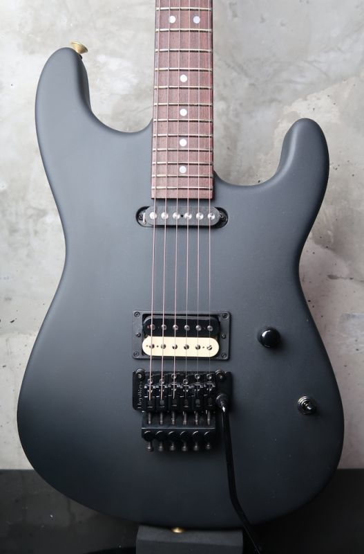 画像1: Charvel Custom Shop San Dimas Custom Satin Black