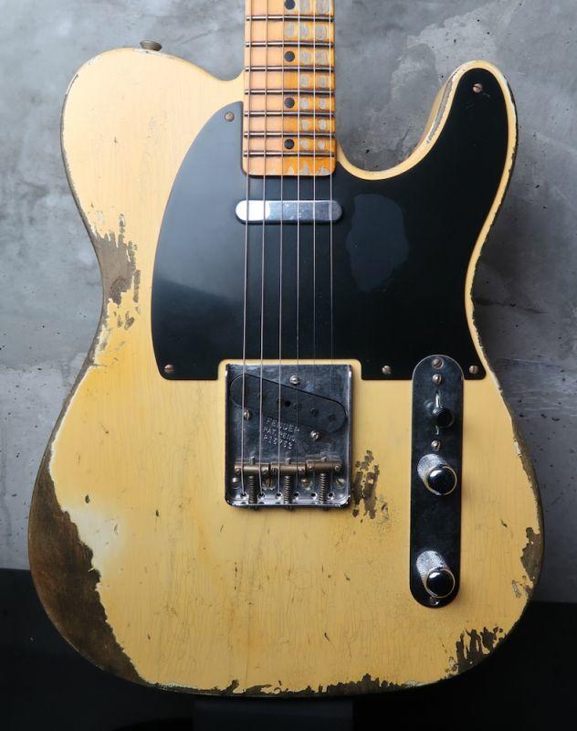 画像1: 大特価☆ Fender Custom Shop 1952 Telecaster Heavy Relic / Natural Blond