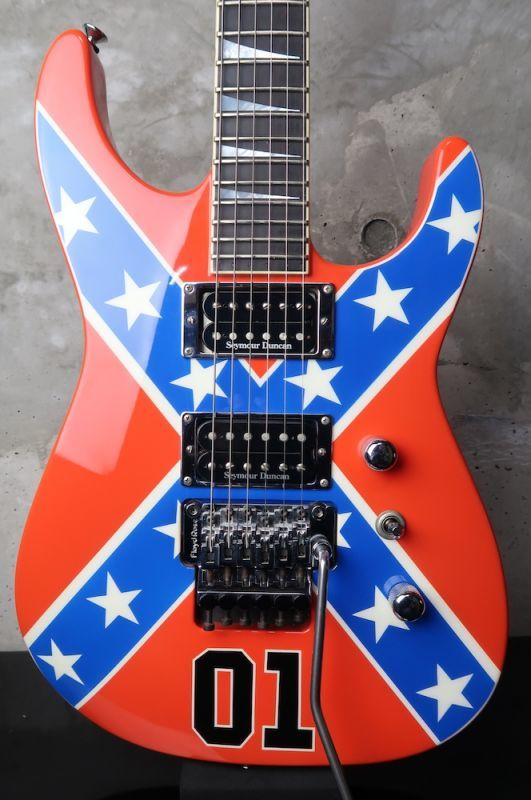 画像1: Jackson USA SL2H Soloist Confederate Flag General Lee