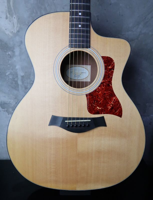画像1: Taylor 114ce Natural / Hard Case 付属