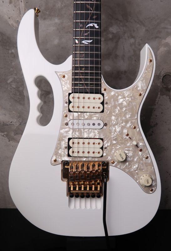 画像1: Ibanez JEM7V Steve Vai Signature '97 White w/ Ebony FB