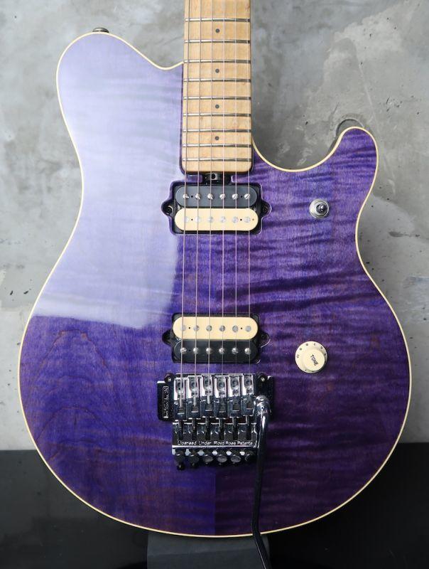画像1: Music Man EVH Limited Trans Purple / One Owner 個体