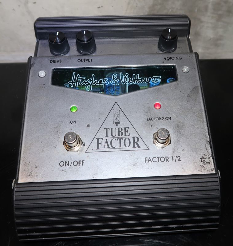 画像1: Hughes&Kettner TUBE FACTOR OverDrive/Distortion
