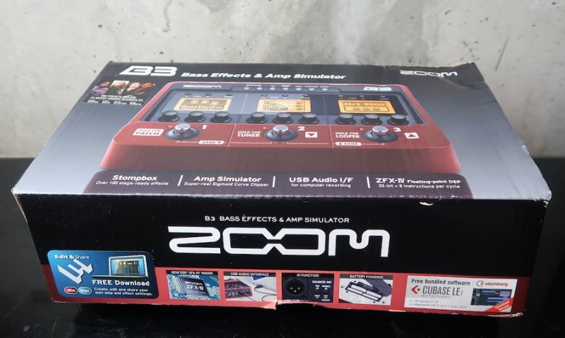 画像4: ZOOM BASS Effects B3 / Bass Effects & Amp Simulator Pedal