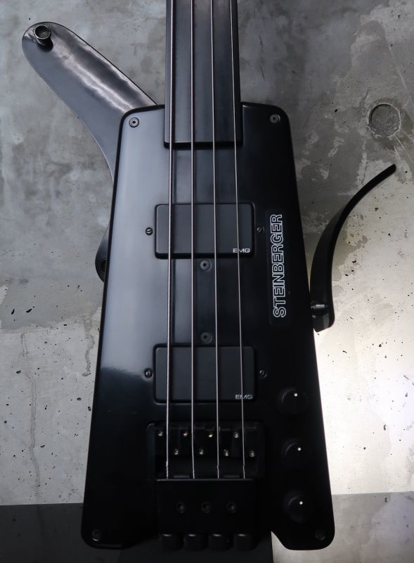 画像1: Steinberger L-2 / Fretless '82 Black