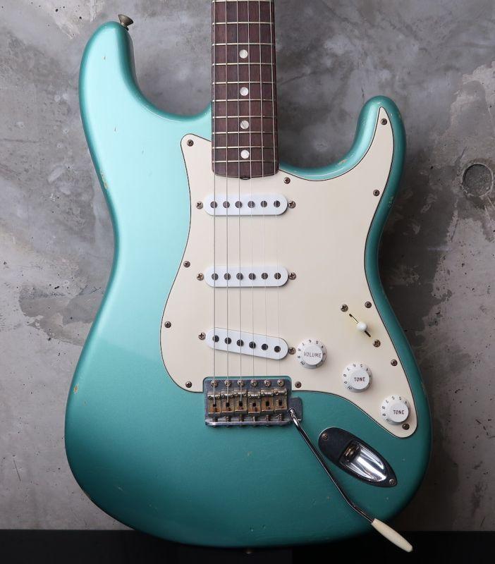 画像1: Fender Custom Shop 1966 Stratocaster Relic / Ocean Turquoise