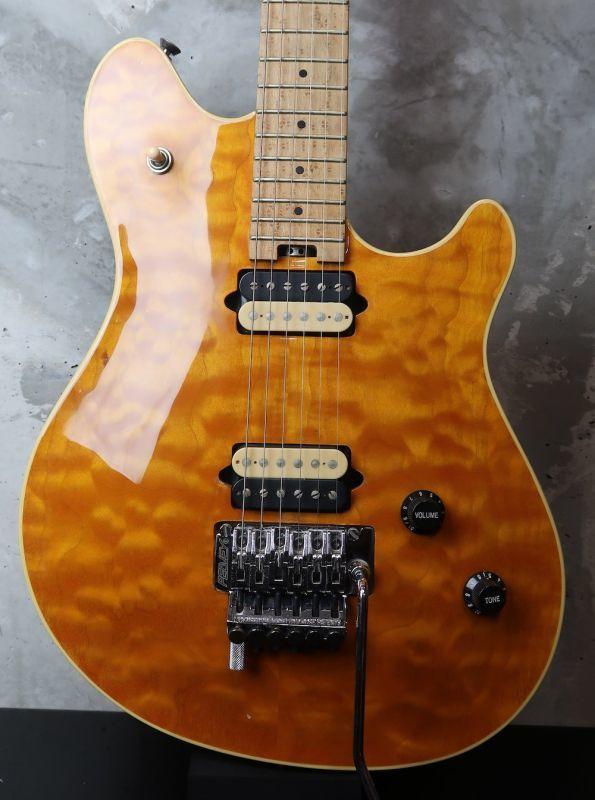 画像1: Peavey USA EVH Wolfgang Standard Quilted Maple / Trans Amber