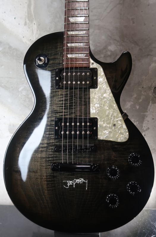 画像1: Gibson USA Les Paul  Joe Perry / Black Burst