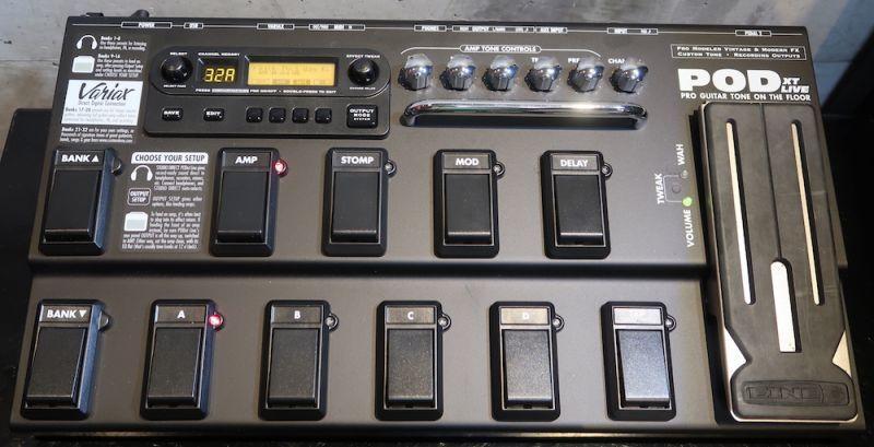 画像1: Line 6  POD XT Live / Case & AC/DC 付属