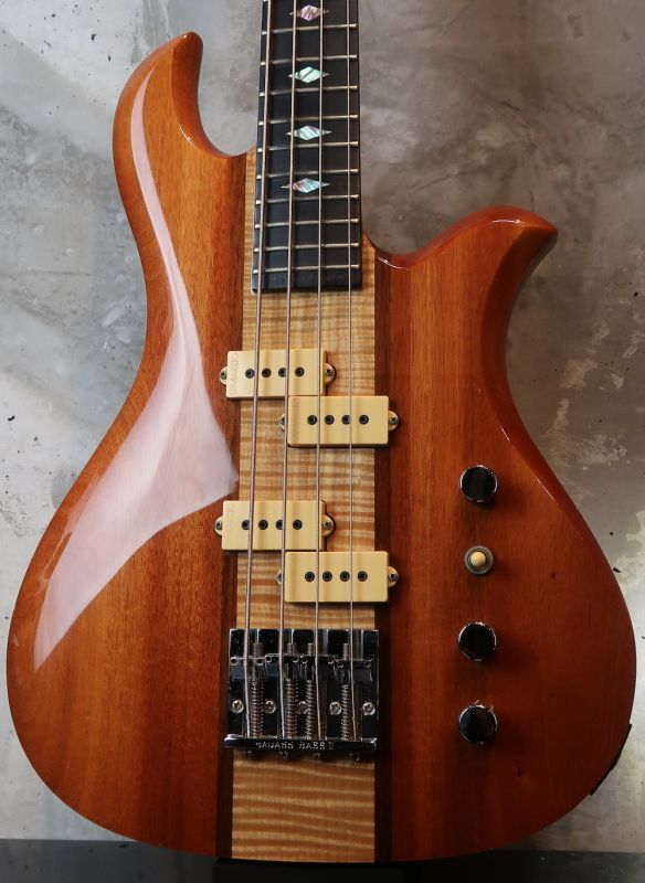 画像1: B.C. Rich Eagle Bass /  Natural