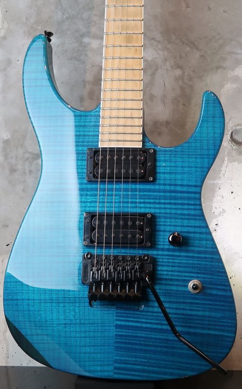 画像1: Peerless ST-505 Matching head / Double Dirty Blue with Binding