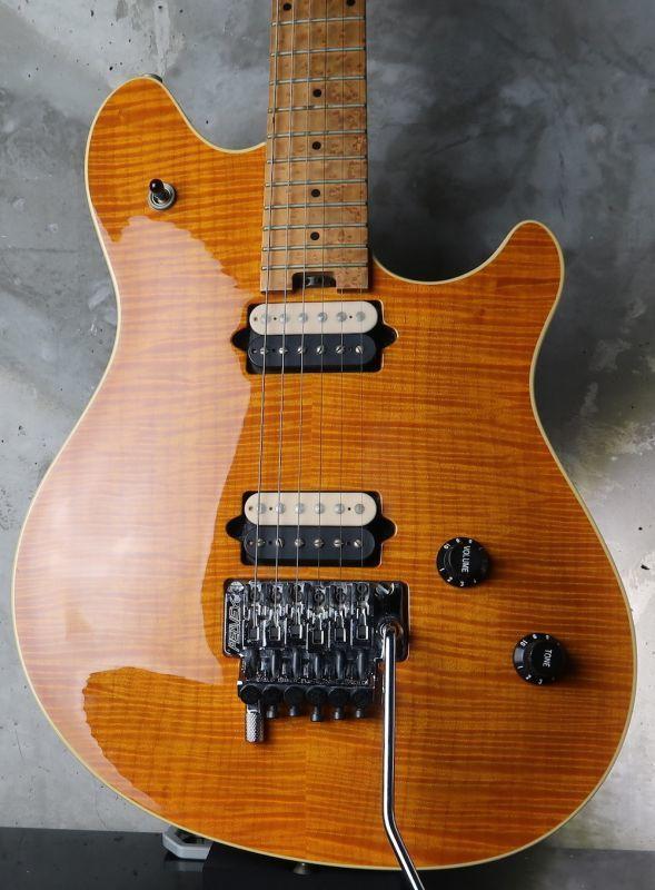 画像1: Peavey USA EVH Wolfgang Standard Fine Flame Maple / Trans Amber