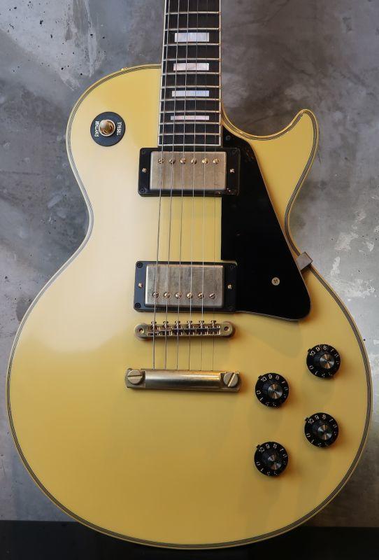 画像1: Gibson USA  Custom Shop /  '74 Les Paul Custom VOS / Yellow White