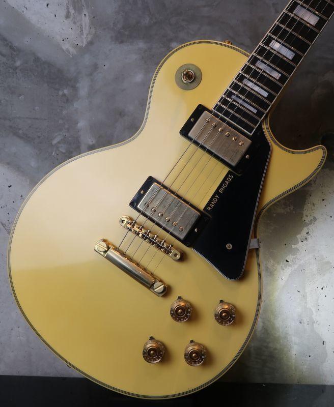 画像1: 月末大特価!!!! Gibson USA  Custom Shop /  '74 Les Paul Custom VOS / Randy Rhoads Modified