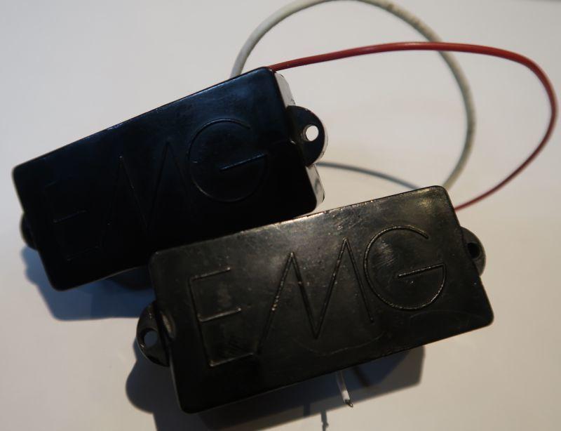 画像1: EMG-PB Vintage / Ledge Embossed Pick Up