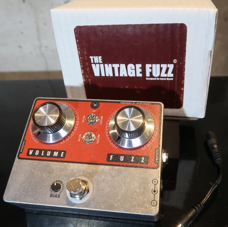 画像1: KING TONE GUITAR Vintage Fuzz Jesse Davey Pedal