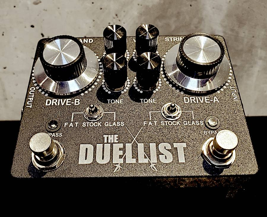 画像1: KING TONE GUITAR The Duellist Overdrive Pedal 店頭現金特価☆1台のみ!!!!
