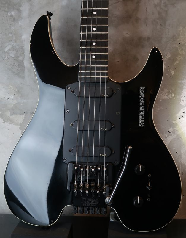 画像1: Steinberger Brooklyn 1987  GM-3T  / David Jon Gilmour Sig'  / Black / w Binding