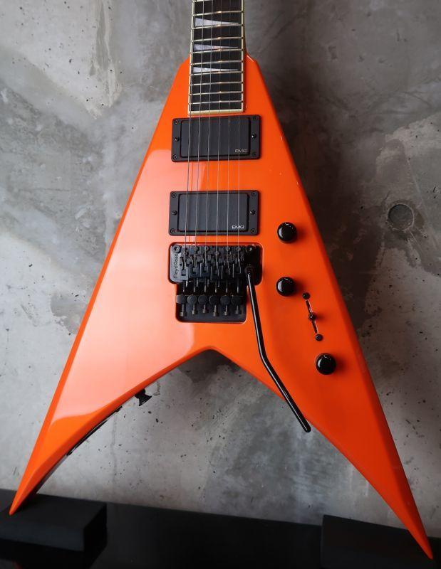 画像1: Jackson USA Custom Shop /  KV2  King V / EMG / Tangelo Orange