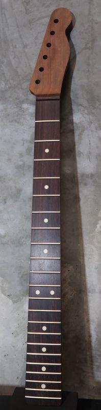 画像1: Warmoth Telecaster® Mahogany Neck  22 Frets  Indian Rosewood (Dark) / Right Handed