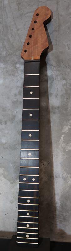 画像1: Warmoth Stratocaster® Mahogany Neck  22 Frets  Ebony / Right Handed