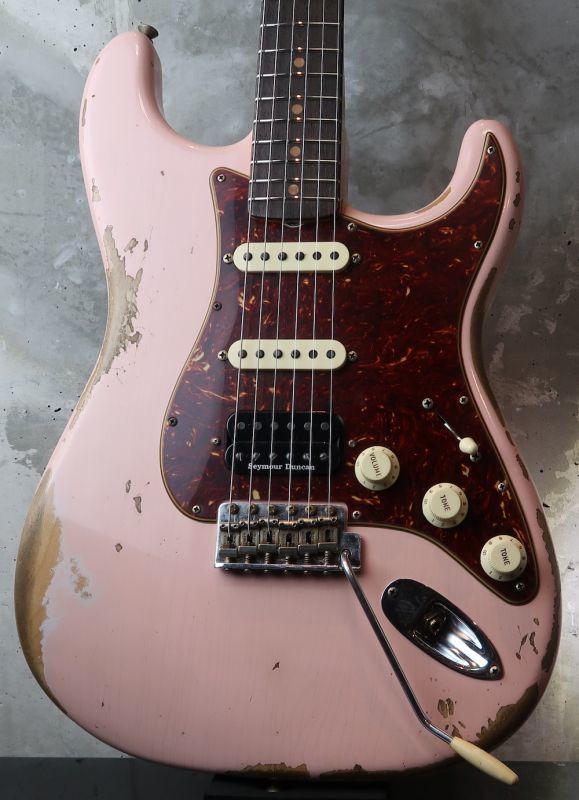 画像1:  Fender Custom Shop 62 Heavy Relic Stratocaster SSH / Aged Shell Pink Finish