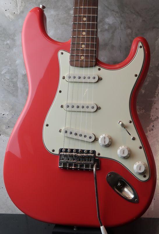 画像1: RS Guitarworks Old Friend Contour Green Guard / Fiesta RED