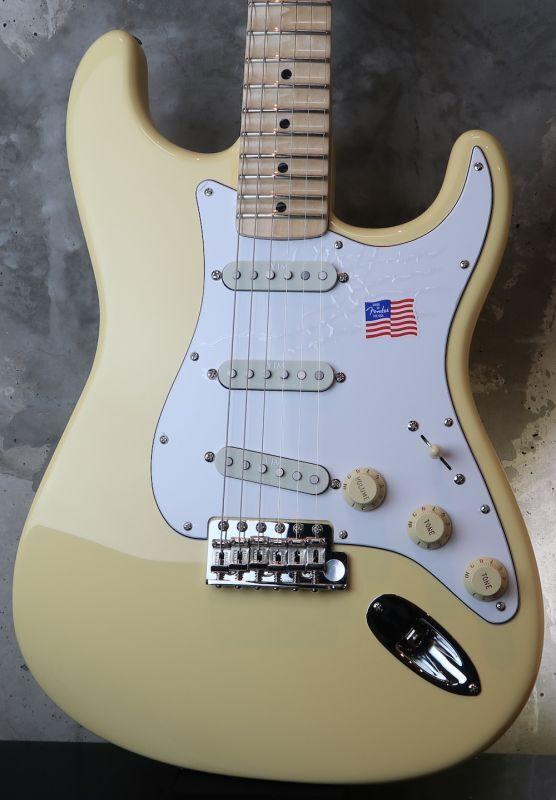 画像1: Fender USA Yngwie Malmsteen Stratocaster Vintage White / Maple  (2)