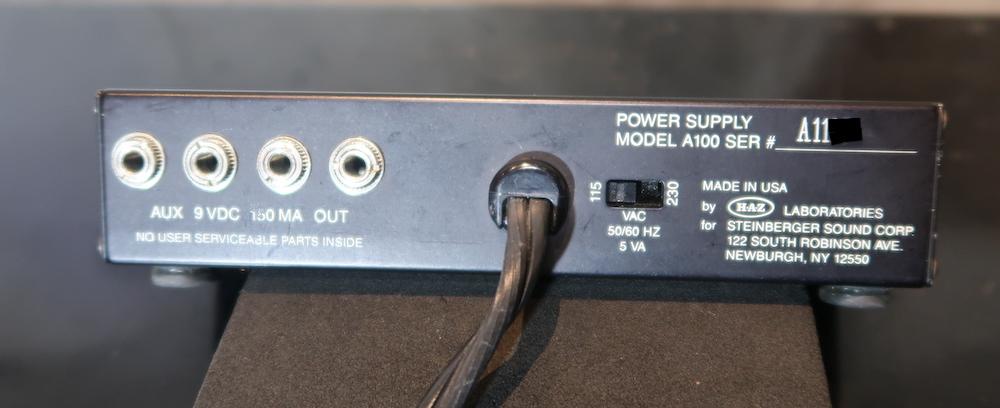 画像2: Steinberger A-100 Phantom Power Supply