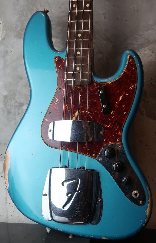 画像1: Fender Custom Shop '64 Jazz Bass Reric / Ocean Turquoise